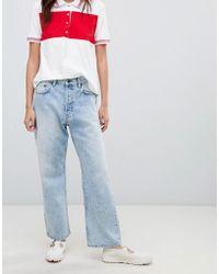 Cheap Monday - Straight Leg Jean In Stonewash Rigid Denim - Lyst