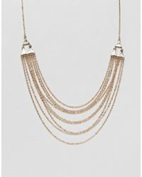 Steve Madden - Layered Necklace - Lyst
