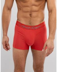 CALVIN KLEIN 205W39NYC - Focused Fit Cotton Trunks - Lyst