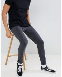 Dr. Denim - Snap Old Black Skinny Jeans - Lyst