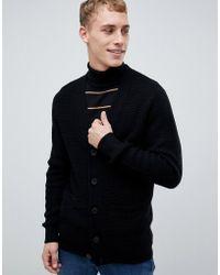 New Look - Cardigan In Black - Lyst