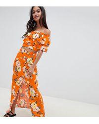 Miss Selfridge - Floral Wrap Skirt - Lyst