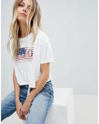 Polo Ralph Lauren - Flag Logo T-shirt - Lyst