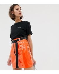 NA-KD - T-shirt With Darlin Text In Black - Lyst