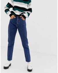 Dr. Denim - Nora Super High Rise Mom Jean - Lyst