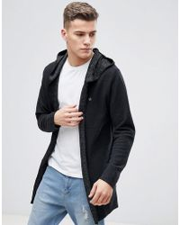 Jack & Jones - Originals Open Drape Cardigan - Lyst