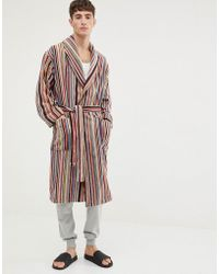Paul Smith - Classic Stripe Dressing Gown - Lyst