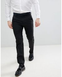 French Connection - Skinny Fit Smart Trousers - Lyst