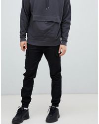 Sixth June - Utility Cargo joggers In Black - Lyst