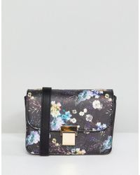 Oasis - Floral Print Across Body Bag - Lyst