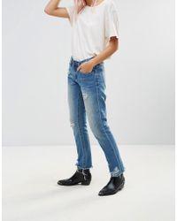 Blank NYC - Day Streaming Chewed Boyfriend Jeans - Lyst