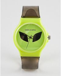 ASOS - Design Festival Watch With Alien - Lyst