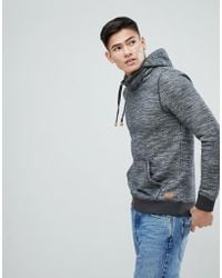 Esprit - Hoodie With Funnel Neck - Lyst