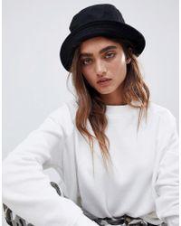 ASOS - Wool Bucket Hat - Lyst