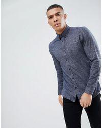 Tokyo Laundry - Short Grandad Collar Shirt - Lyst