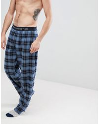French Connection - Flannel Lounge Pants - Lyst