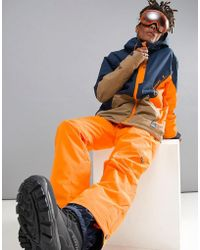 O'neill Sportswear - Hammer Ski Trousers In Orange - Lyst