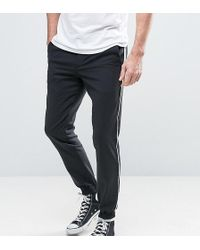 Noose And Monkey - Skinny Fit Tuxedo Jogger - Lyst