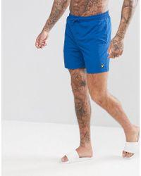 Lyle & Scott - Swim Shorts In Blue - Lyst
