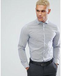 Jack & Jones - Premium Long Sleeve Slim Smart Shirt - Lyst