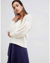 French Connection - Millie Mozart Fit And Volume Jumper - Lyst