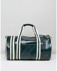 Fred Perry - Barrel Bag Ivy - Lyst