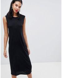 Weekday - Sleeveless Column Dress - Lyst