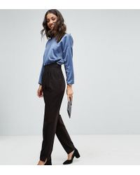 ASOS Asos Design Tall High Waist Tapered Trousers