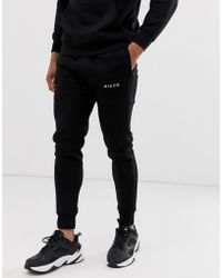 Sweatpants In Black With Logo