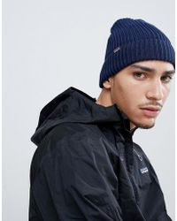 Patagonia - Fisherman's Rolled Beanie In Navy - Lyst