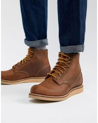 Red Wing - Rover Lace Up Boots In Copper Leather - Lyst