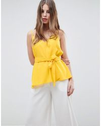 French Connection - Strappy Cami Top - Lyst