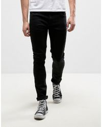 Farah - Drake Slim Fit Jeans In Black - Lyst