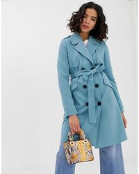 Vero Moda Trench Coat - Blue