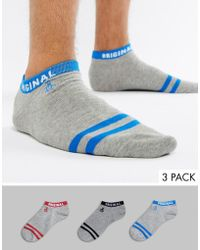 Original Penguin - 3 Pack Sock - Lyst
