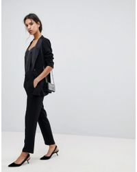 SELECTED - Femme Stretch Tailored Straight Pants - Lyst