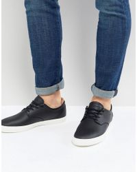 Lacoste - Espere Leather Trainers In Black - Lyst