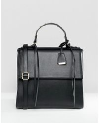 Glamorous - Black Grab Handle Bag - Lyst