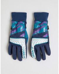 adidas Originals - Goalie Gloves In Blue - Lyst