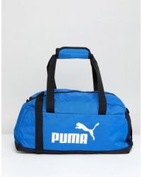 PUMA - Phase Sport Bag In Blue 07494227 - Lyst