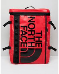 The North Face - Base Camp Fusebox Backpack In Red - Lyst