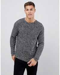 Only & Sons - Ribbed Jumper - Lyst