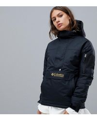 Columbia - Challenger Pullover In Black - Lyst