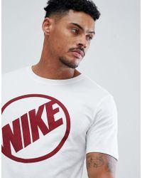 Nike - Blue Harbour Logo T-shirt In White 911911-101 - Lyst