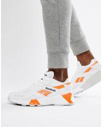 reputable site ffc63 21e51 Reebok - Aztrek 90s Sneakers In White Cn7472 - Lyst