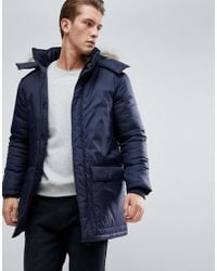 French connection sherpa lined parka