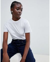 SELECTED - Perfect Tee Stripe T-shirt - Lyst