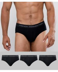 fb136ea575b Men's French Connection Briefs On Sale - Lyst