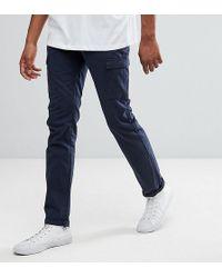 Bellfield - Tall Straight Leg Cargo Trousers - Lyst