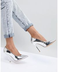 Office - High Flyer High Vamp Pointed Shoes - Lyst